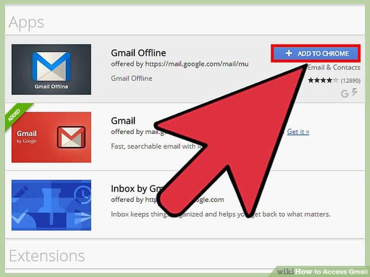 استفاده آفلاین از جیمیل با برنامه Gmail Offline