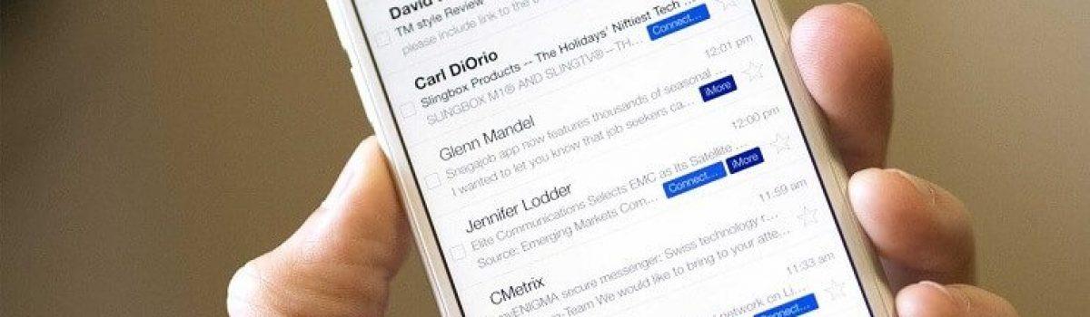 لغو دریافت ایمیل گزارش اسپم در برنامه جیمیل iOS