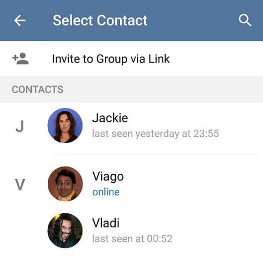 ساخت لینک دعوت برای گروه تلگرام