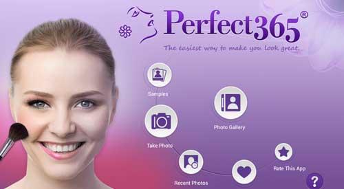 معرفی برنامه Perfect365