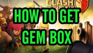 دریافت جم رایگان از طریق جم باکس کلش (Gem Box)