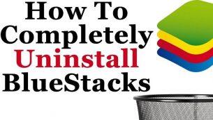 آموزش حذف کامل بلو استکس از کامپیوتر – BlueStacks