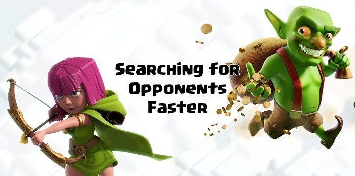 جستجو سریع تر در کلش اف کلنز
