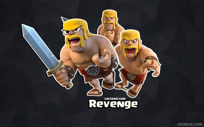 انتقام گیری یا Revenge در بازی کلش اف کلنز