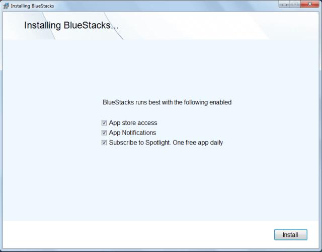 نصب بلو استکس روی کامپیوتر – Bluestacks