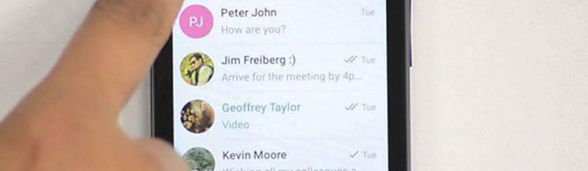 آموزش مخفی کردن چت ، کانال و گروه تلگرام با برنامه موبوگرام