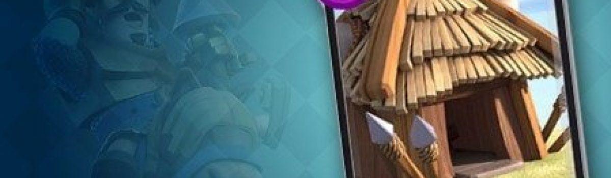 معرفی کارت های کلش رویال ؛ کارت Goblin Hut یا کلبه گوبلین ها