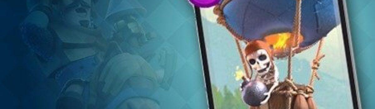 معرفی کارت های بازی کلش رویال ؛ کارت بالون یا Balloon