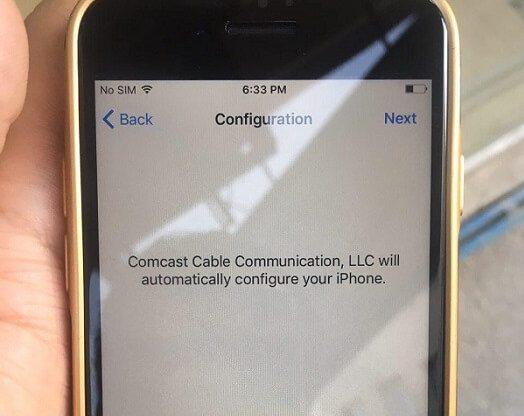 رفع ارور Comcast Cable Communication