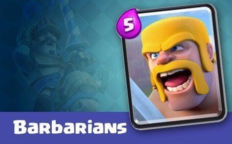 کارت Barbarians یا بربرن ها
