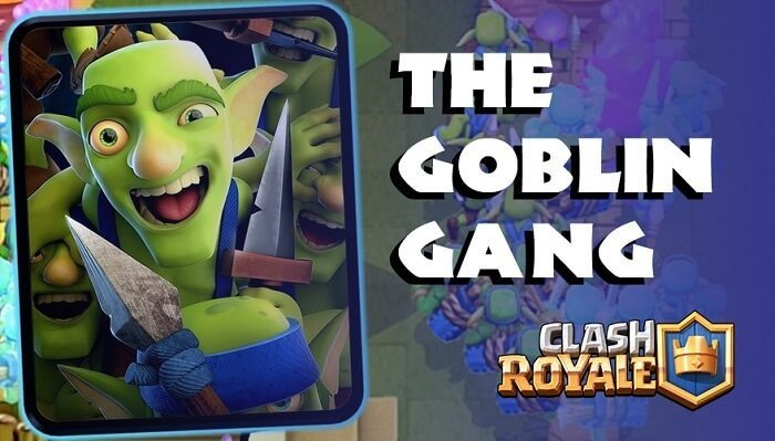 معرفی کارت های کلش رویال ؛ کارت Goblin Gang یا گوبلین گنگ