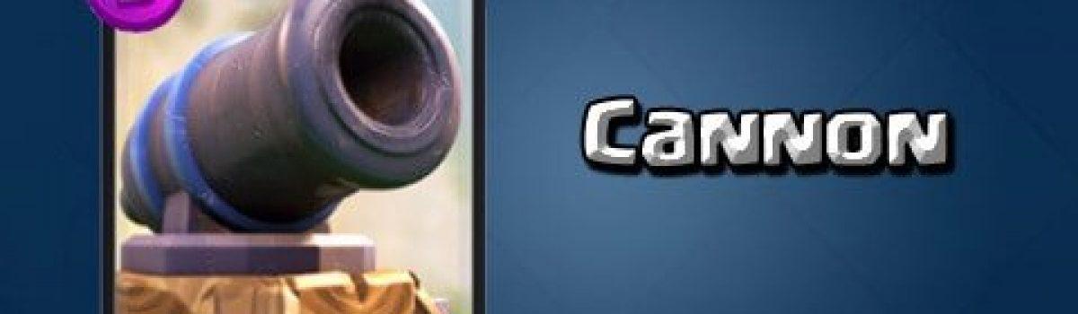 معرفی کارت های بازی کلش رویال ؛ Cannon یا کنون