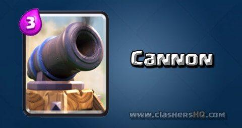 معرفی کارت های بازی کلش رویال ؛ کارت Cannon یا کنون