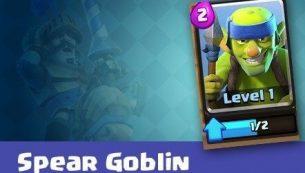 معرفی کارت های کلش رویال ؛ کارت Spear Goblins