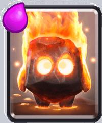 معرفی کارت های کلش رویال ؛ کارت Fire Spirits یا فایر اسپریت