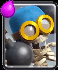 معرفی کارت های کلش رویال ؛ کارت بمبر یا Bomber