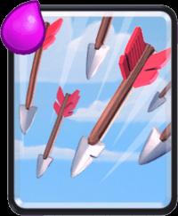 معرفی کارت های کلش رویال ؛ کارت Arrows یا پیکان ها