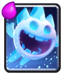 معرفی کارت های کلش رویال ؛ کارت Ice Spirit یا آیس اسپریت