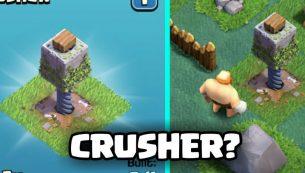 روش های اتک به سنگ شکن (Crusher) در Builder Base کلش اف کلنز