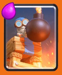 معرفی کارت های کلش رویال : کارت Bomb Tower یا بمب تاور