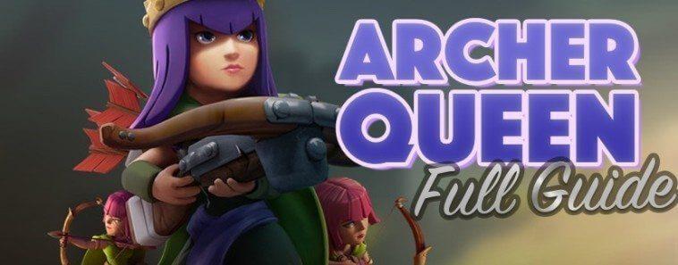 استفاده از آرچر کویین در اتک های کلش اف کلنز (Archer Queen)