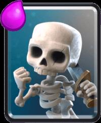 کارت Skeletons یا اسکلت ها