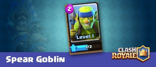 کارت های کلش رویال ؛ کارت Spear Goblins یا گوبلین های نیزه انداز