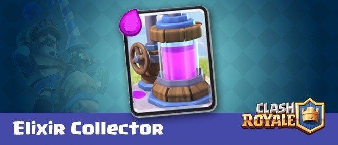 معرفی کارت های کلش رویال : کارت الکسیر کالکتور (Elixir Collector)