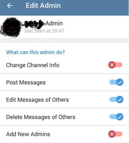 آپدیت جدید تلگرام 4.1 منتشر شد؛ تعیین سطح دسترسی ادمین ها و غیره