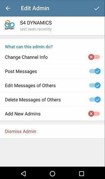 آپدیت تلگرام بتا