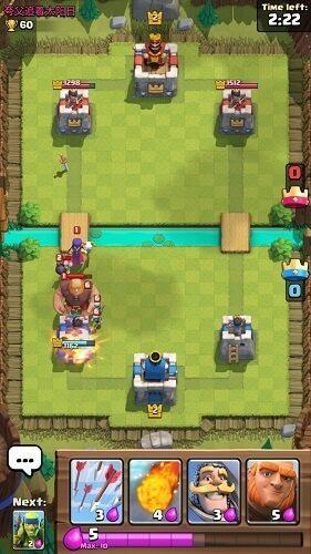 گیم پلی و محیط بازی کلش رویال (Clash Royale)