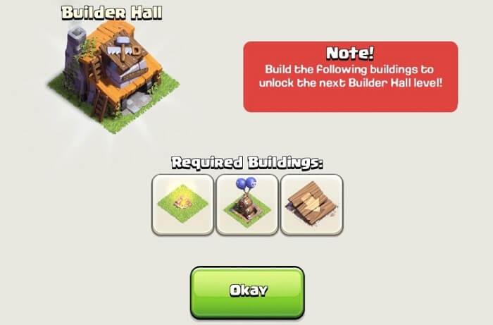 آپدیت یا آپگرید Builder Base کلش اف کلنز