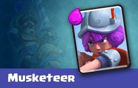 کارت Musketeer یا تفنگدار