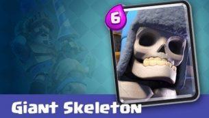 معرفی کارت های کلش رویال ؛ کارت جاینت اسکلت Giant Skeleton
