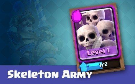 کارت ارتش اسکلت ها (Skeleton Army)