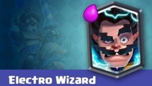 معرفی کارت های کلش رویال ؛ کارت Electro Wizard