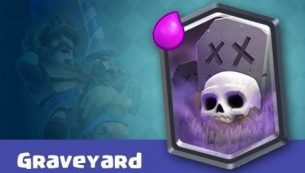 معرفی کارت های کلش رویال ؛ کارت قبرستان یا Graveyard