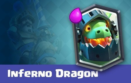 کارت اینفرنو دراگون یا Inferno Dragon