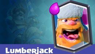 معرفی کارت های بازی کلش رویال ؛ کارت لامبرجک یا Lumberjack