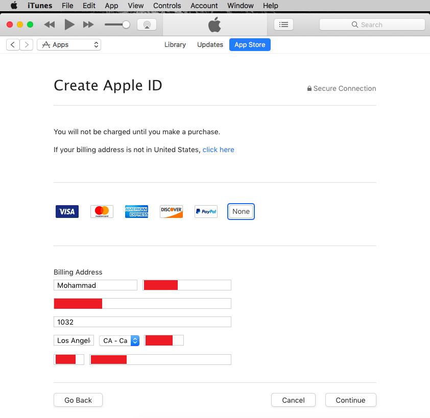 آموزش ساخت اپل آیدی رایگان 2019 – Apple ID