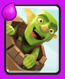 معرفی کارت های کلش رویال ؛ کارت بشکه گوبلین ها یا Goblin Barrel