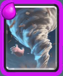معرفی کارت های کلش رویال ؛ کارت گردباد یا Tornado