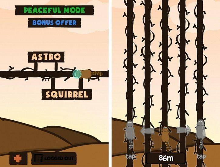 معرفی بازی Astro Squirrel ؛ سنجاب فضانورد!