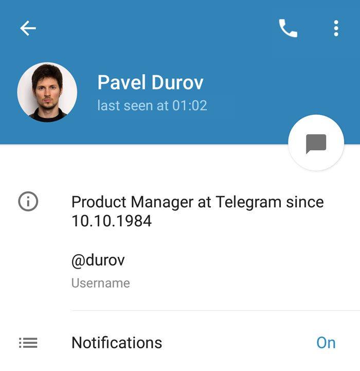 آموزش نوشتن بیو در تلگرام – Telegram Bio