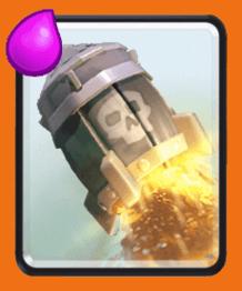 معرفی کارت های بازی کلش رویال ؛ کارت راکت یا Rocket