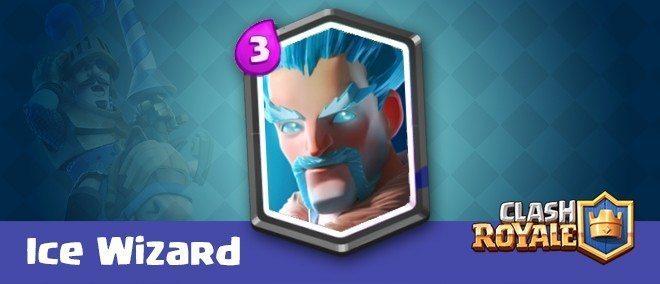 معرفی کارت های کلش رویال ؛ کارت آیس ویزارد (Ice Wizard)