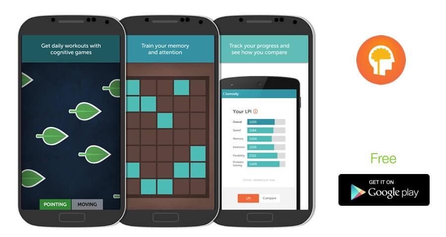 معرفی برنامه Lumosity (لوموسیتی): تقویت هوش و حافظه با اپلیکیشن