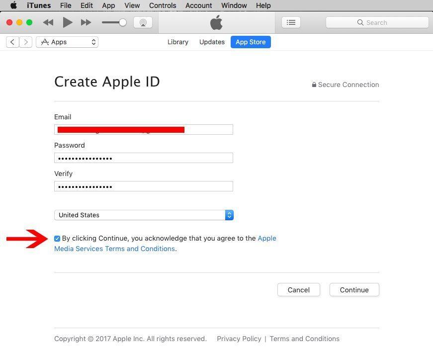 آموزش ساخت اپل آیدی رایگان 2017 – Apple ID - موبایل کمک