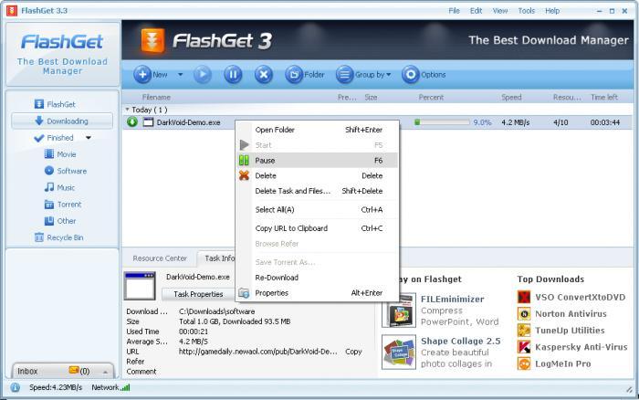 معرفی 10 برنامه Internet Download Manager برای ویندوز