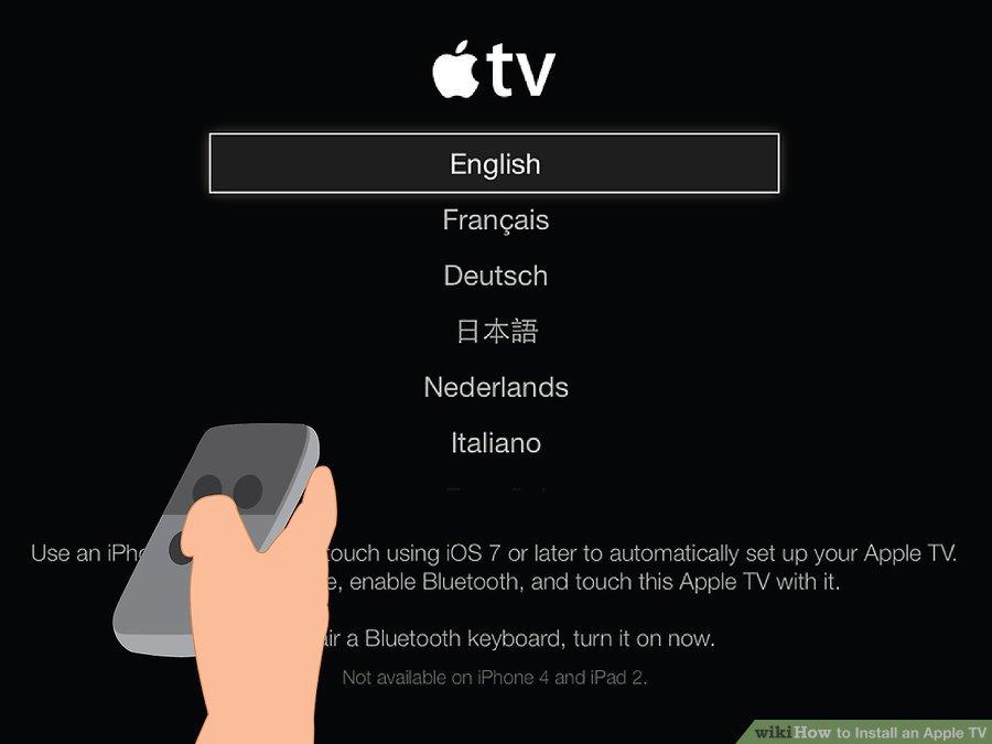 آموزش تصویری راه اندازی اپل تی وی (Apple TV)
